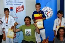 Pacurar Stefan – campion national U13, 27 kg.